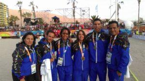 Seleccion Aletas Medallas Iquique 2016